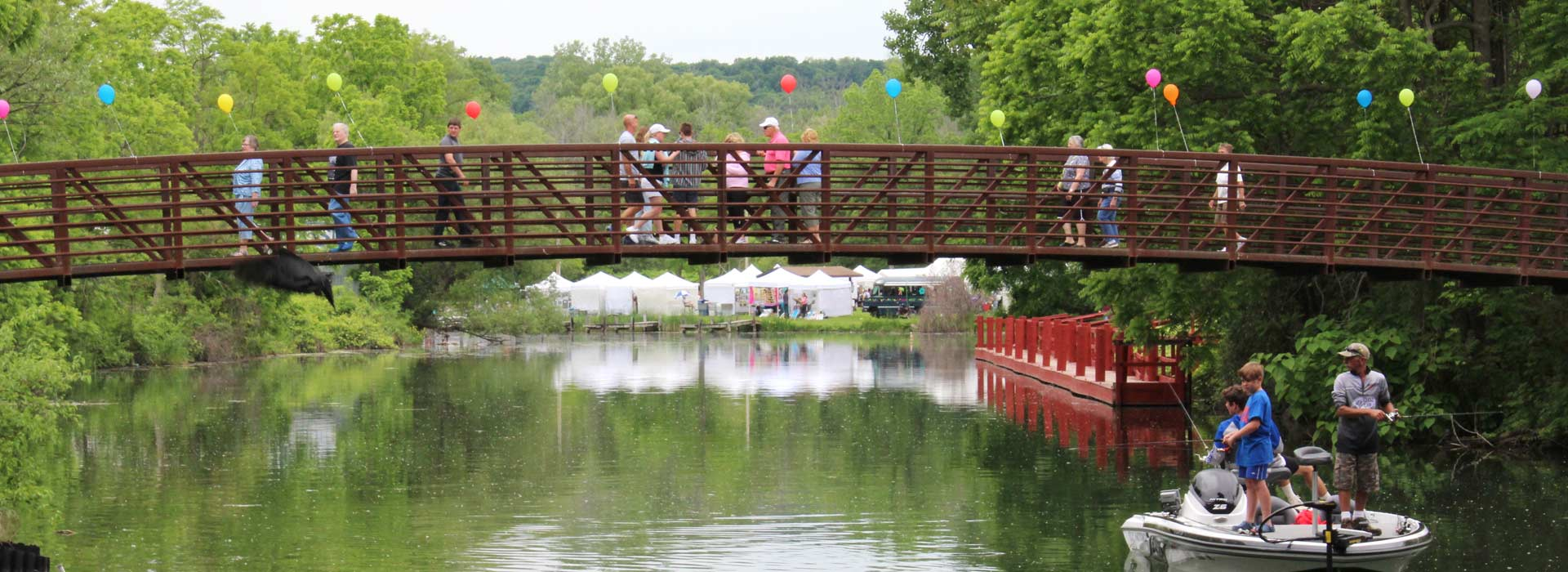Keuka Arts Festival Bridge