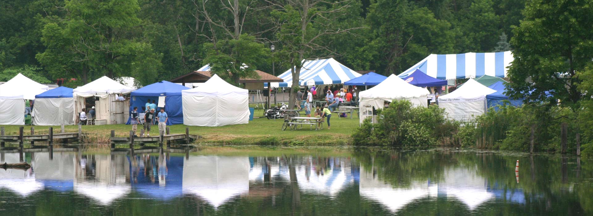 Keuka Arts Festival Tents